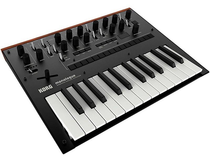 Монофонический аналоговый синтезатор KORG MONOLOGUE-BL: фото