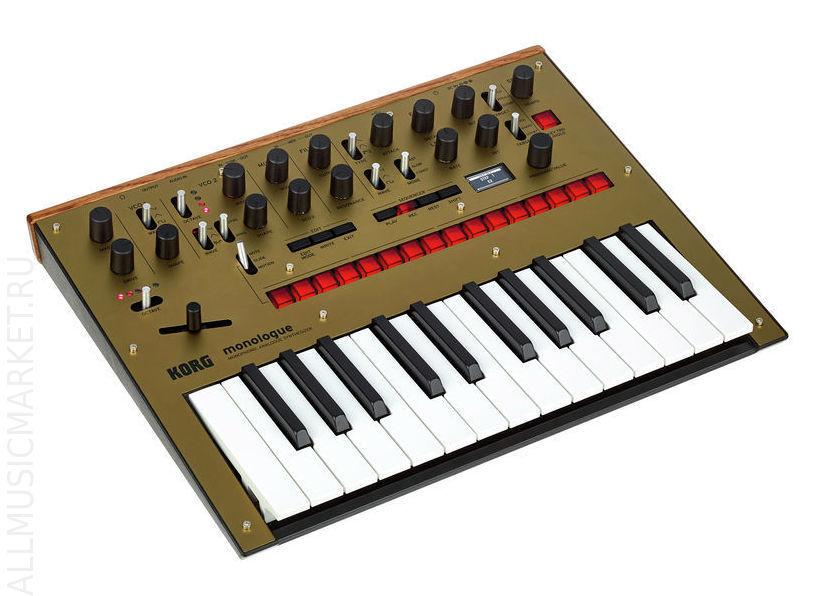 Монофонический аналоговый синтезатор KORG MONOLOGUE-GD: фото